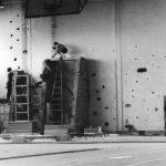 1982 - Lycée de Corbeil-Essonnes - Construction mur escalade - plan incliné