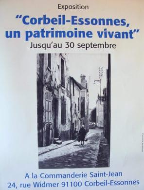 1ère Exposition MPV - 30-09-2001 - Corbeil Essonnes un patrimoine vivant