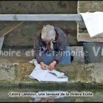 Césira Landour - une laveuse de la rivière Ecole à Corbeil-Essonnes