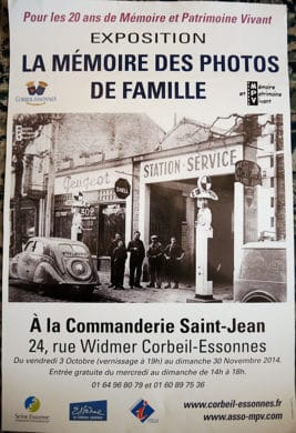 Exposition MPV - La Mémoire des photos de famille - 2014 - Corbeil-Essonnes