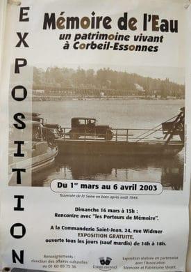 Exposition MPV 2003 -Mémoire de l'eau - Corbeil-Essonnes