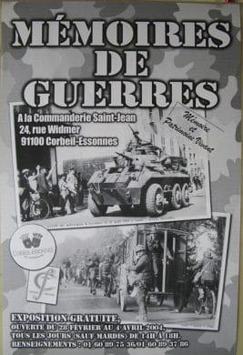 Exposition MPV 2004 - Mémoires de Guerre - Corbeil-Essonnes