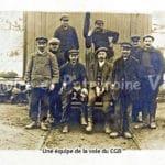 Une équipe de la voie du CGB de Corbeil-Essonnes à Milly