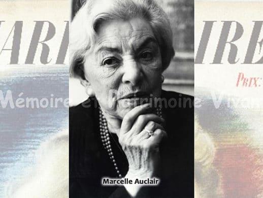 Marcelle Auclair - Auteur de deux ouvrages populaires de psychologie dans les années 1950