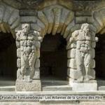 Mémoire de carriers : Palais de Fontainebleau - Les Atlantes de la Grotte des Pins