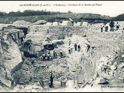 La Ferté-Allais - Carrières de la Roche qui Pleure