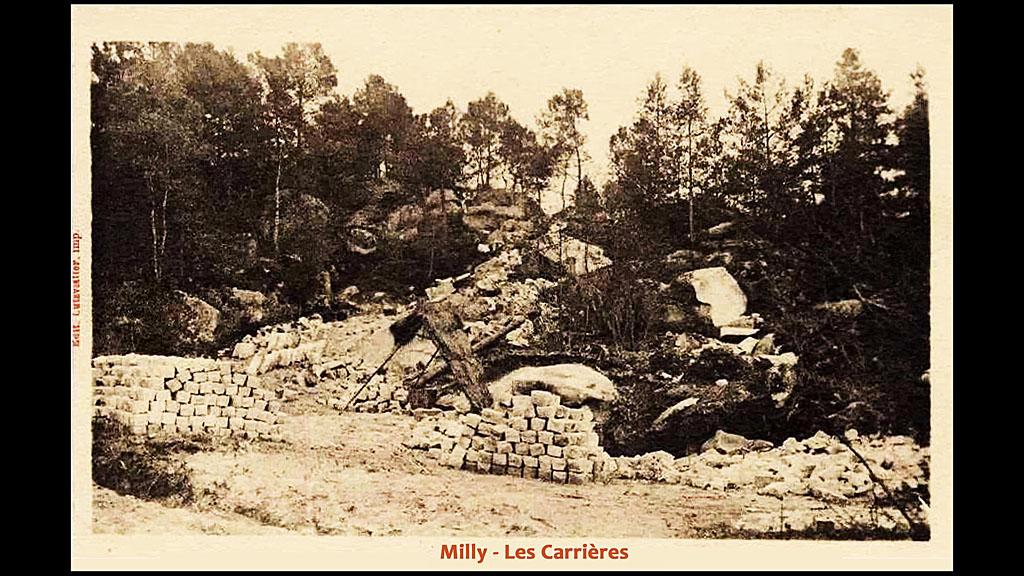 Milly - Les Carrières