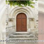 Mémoire de carriers - Portail de l'église d'Achères-la-Forêt