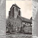 Mémoire de carriers - Clocher de l'église d'Achères-la-Forêt