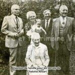 Réunion de famille pour les 100 ans de Chalotte Ansart