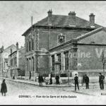 Corbeil - Rue de la Gare et Asile Calais