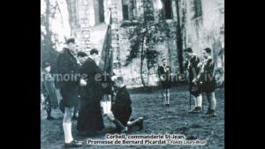 Corbeil, commanderie St-Jean. Promesse de Bernard Picardat