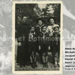 Scoutisme - Abbé Beguin, Micheline Brun, Jacqueline Juge, Daniel Belgrand, Henri Jardin, Jean-Louis Doucet