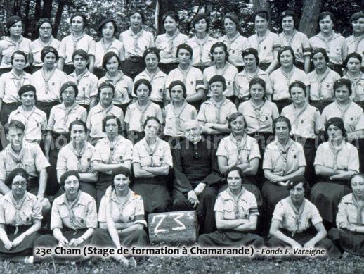 23e Cham - Stage de formation Scout à Chamarande
