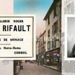 La Quincaillerie Roger de Corbeil en Seine-et-Oise et son gérand Fernand RIFAULT
