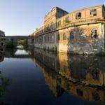 Ancienne Papeterie Darblay et la rivière Essonne