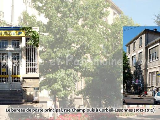 Bureau de poste - rue Champlouis à Corbeil-Essonnes 1912-2012