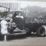 Camion de la ville de Corbeil avant guerre