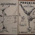 Fête de la gymnastique en 1949 à Corbeil-Essonnes