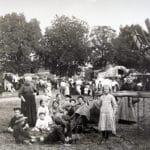 Guerre 14/18 - Réfugiés Belges à l'ancien champ de foire de Corbeil-Essonnes