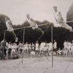 Gymnastes en 1949 à Corbeil-Essonnes