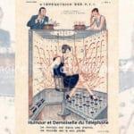 Humour et Demoiselle du Téléphone - L'Impératrice des PTT