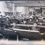 Imprimerie Crété à Corbeil - Atelier de composition