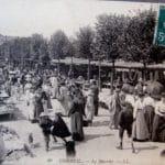 Le marché de Corbeil autrefois