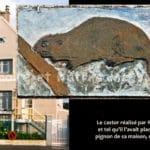 Le castor réalisé par Roger Poirel - Quartier de Montconseil - Corbeil-Essonnes