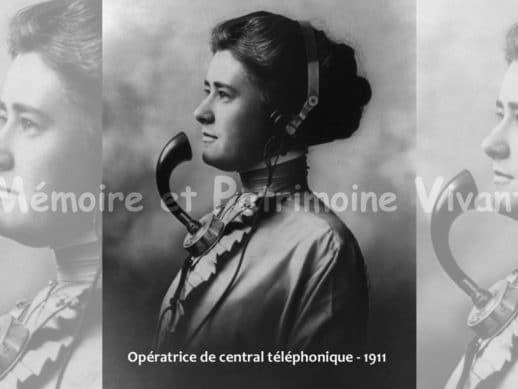 Opératrice de Central Téléphonique en 1911