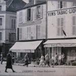 Place Saint-Léonard avant la guerre à Corbeil