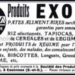 Société des Produits Rationnels d'Alimentation Exona à Essonnes Seine-et-Oise