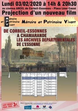 Prochaine projection à Corbeil-Essonnes 91