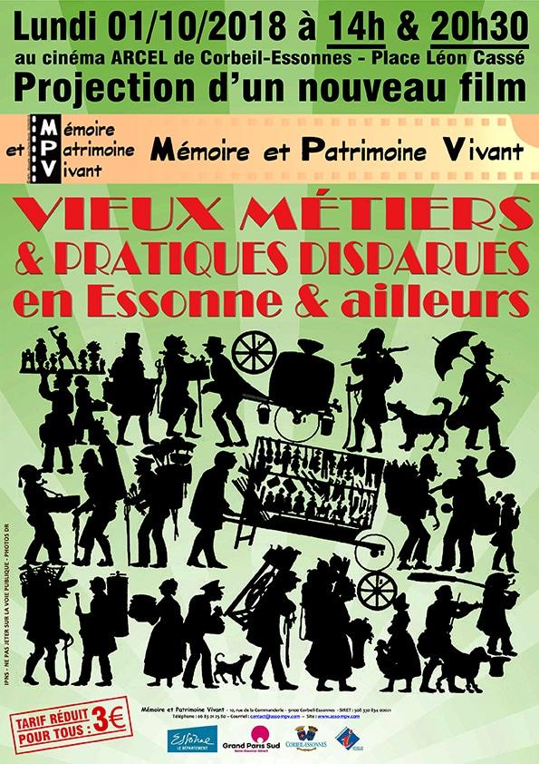 Projection Film MPV à Corbeil-Essonnes le 01/10/2018