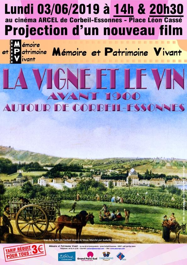 projection film mpv - la vigne et le vin