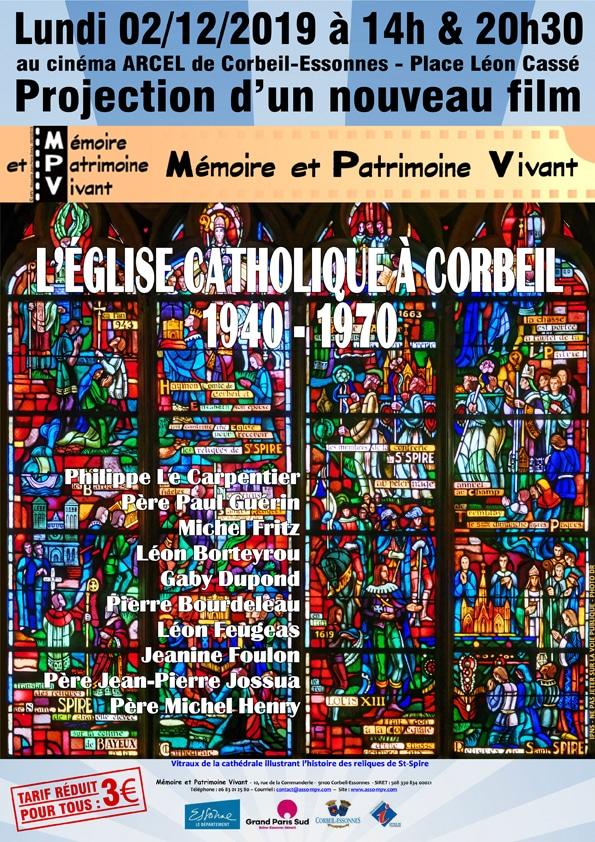 L'EGLISE CATHOLIQUE A CORBEIL 1940-1970