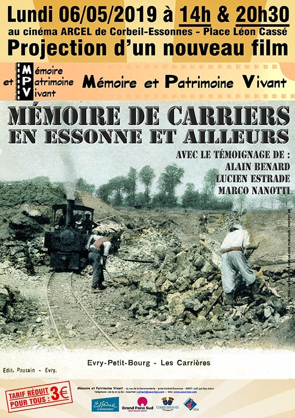 projection-film-mpv-memoire-de-carriers-en-Essonnes-ou-ailleurs-06-05-2019