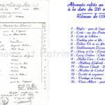PTT - Abonnés au Réseau Téléphonique de Corbeil Essonnes - 1893