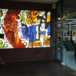 Vitrail Fernand Léger à Corbeil-Essonnes
